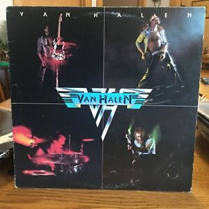 Van Halen. 2LP records. Self titled and ou812.