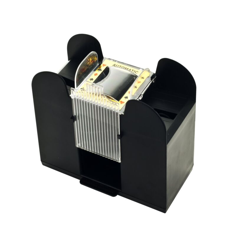 Casino 6-Deck Automatic Card Shuffler