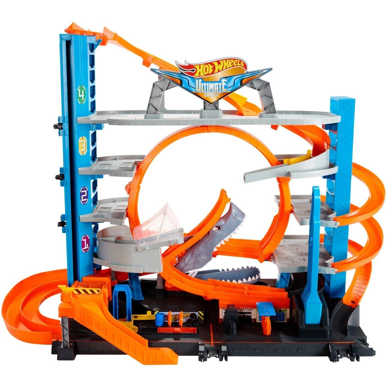 Hot Wheels Ultimate Garage Playset Toy For Kids Elevator Lau