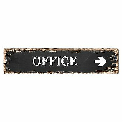 SP0015 Office Alley Sign Bar Store Shop Pub Cafe Home Shabby Chic Decor