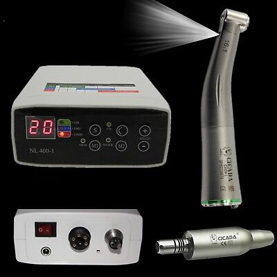 Cicada Nsk Kavo Dental Electric Motor 161 Fiber Optic Handpiece Contra Angle