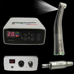 NSK KAVO Dental Electric Micro Motor + 16:1 Firber Optic Handpiece Contra Angle