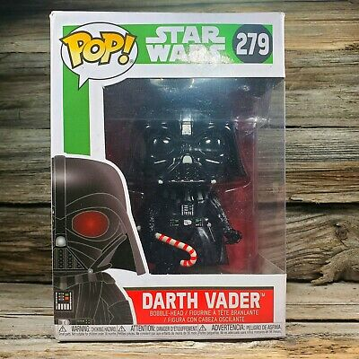 New in Box Funko POP! Star Wars Holiday Christmas Darth Vader 279 CHASE