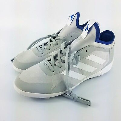 8c17097856e adidas Ace Tango 17.2 TF Turf Soccer Shoes - Grey Navy - BA8540 - Sz  6.5