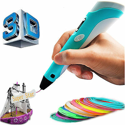 3D Printing Drawing Pen Crafting Modeling Abs Pla Filament Arts Printer As Gift