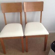 4 chairs ,Pick up, brand new, leather seat Curl Curl Manly Area Preview