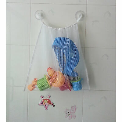 "2 pcs Kids Baby Bath Tub Toy Bag Hanging Organizer Storage Bag Large 18""x14"""