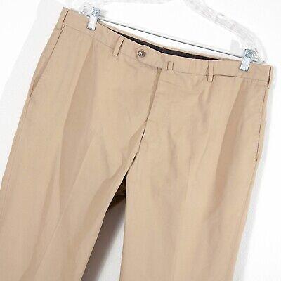 Incotex by Slowear 100% Cotton Khaki Chino Pants Straight Leg Men's 40/34