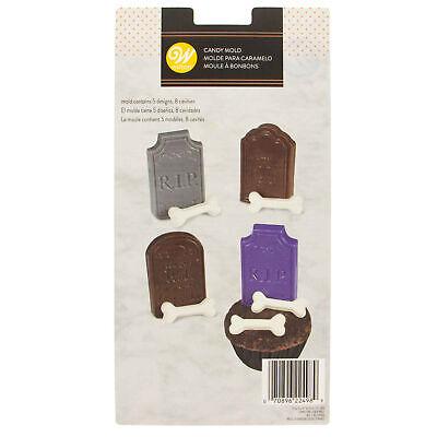 Wilton Halloween Tombstones & Bones Candy Mold | Chocolate](Bones Cast Halloween)