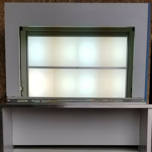 S & S X-Ray Products MV112B Motorized Vertical Viewer Fixed 28 Frames Lighted