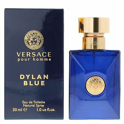 Versace Pour Homme Dylan Blue Eau de Toilette 30ml Spray Men's - NEW EDT For Him