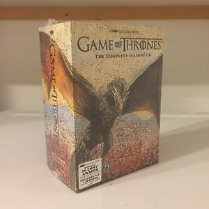 80$ Neuf Trone de Fer Game of Thrones Dvd Set Seasons 1-6.