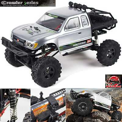 REMO Hobby 1/10 4WD RC Monster Truck Off Road Rock Crawler Brushed RC Car 1093ST