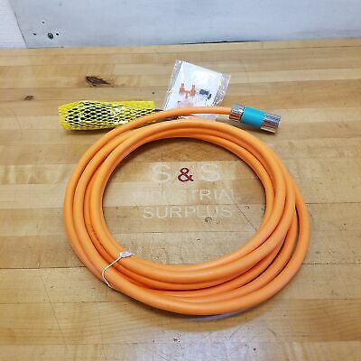 Siemens 6fx8002-5ds01-1ah0 Motion Connect 800plus Power Cable 7 Meters - New
