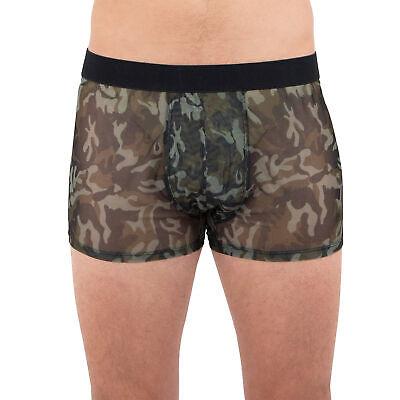 INTIMO Mesh Camouflage Boxer Briefs Underwear X-Large