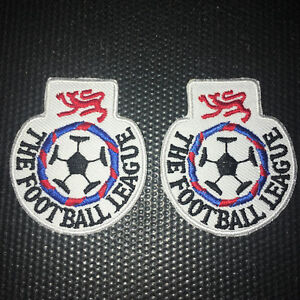 Football League 1989 1990 1992 Football Shirt Patch Badge Retro Embroidered EFL