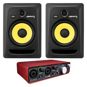 2 speakers with focusrit brand new