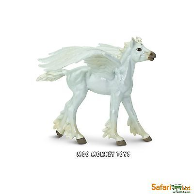 BABY PEGASUS  Mythology Safari Ltd Mythical Realms #803729 winged horse NEW 2017
