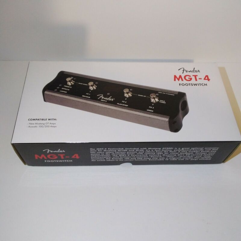 Fender MGT-4 Mustang Footswitch - Free Shipping