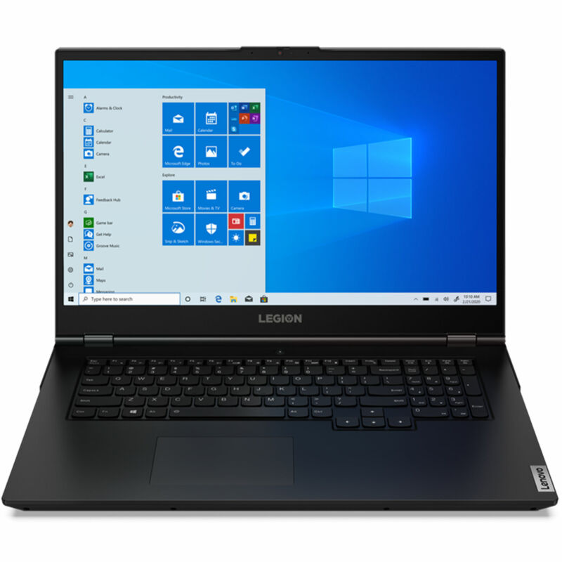 "Lenovo Legion 5i Laptop, 17.3"" FHD IPS  144Hz, i7-10750H,  GeForce RTX 2060 6GB"