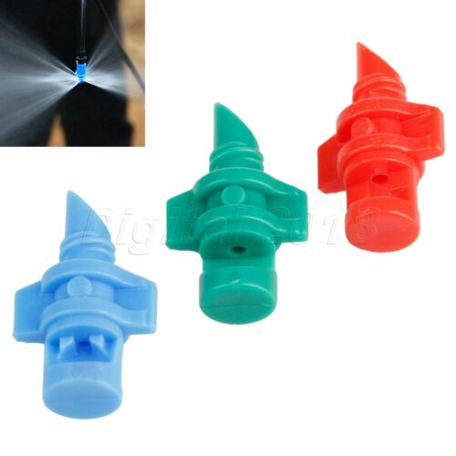 50X Micro Garden Lawn Water Spray Nozzle Sprinkler Irrigation System 360 Degree