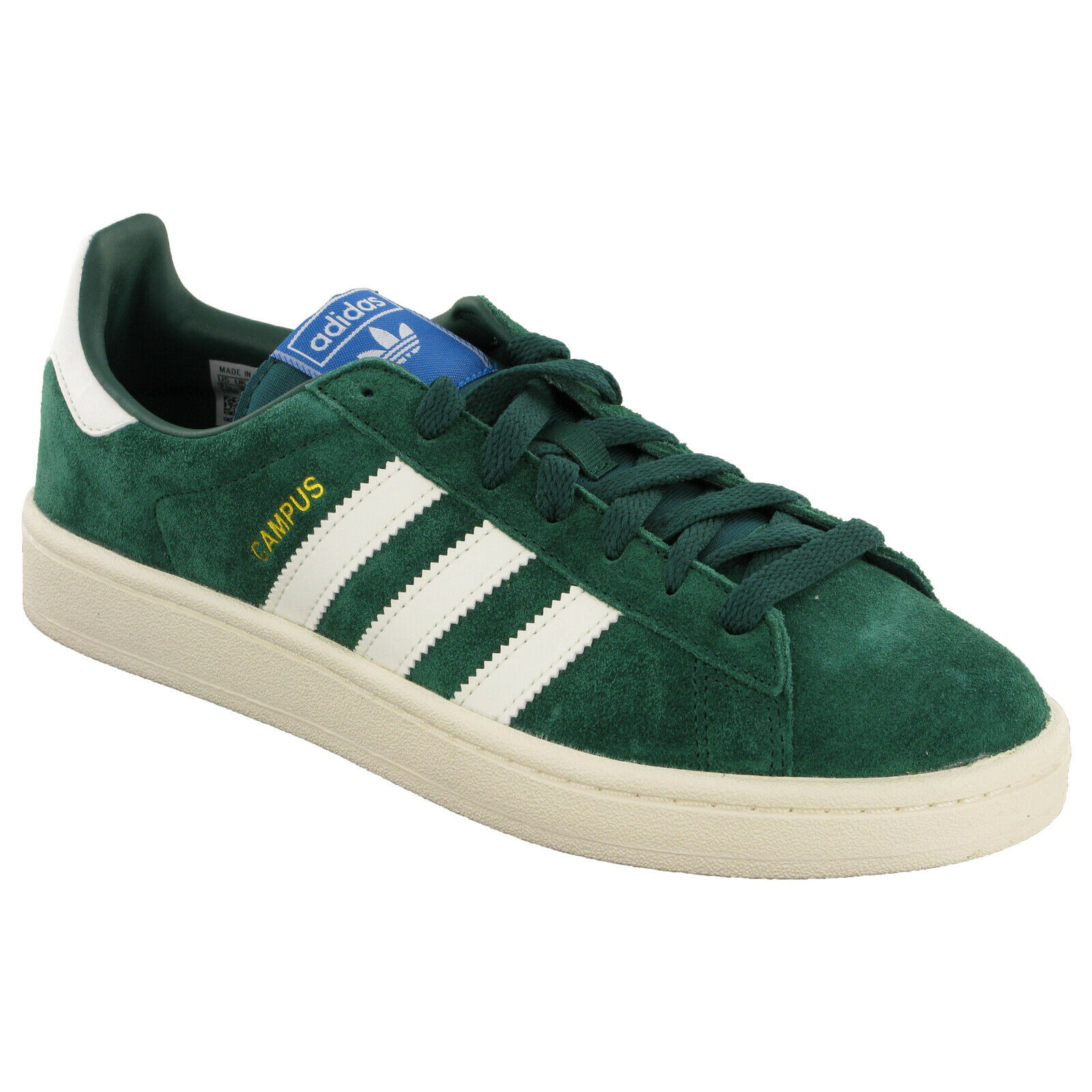 chaussure adidas campus lle green