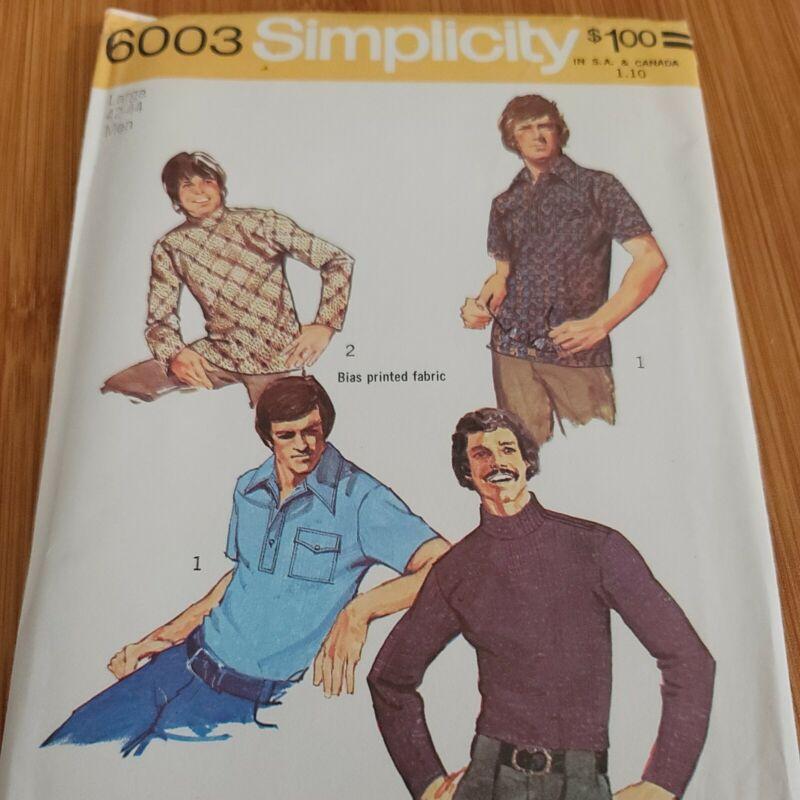 Simplicity 6003 Men