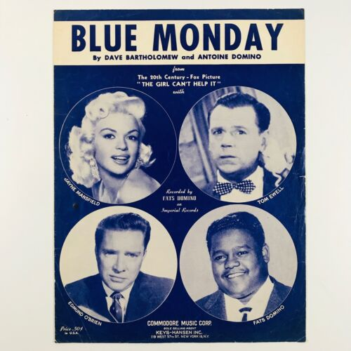 Blue Monday Sheet Music The Girl Can