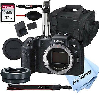 Canon EOS RP Mirrorless Digital Camera + Mount Adapter EF-EOS R-32GB Bundle