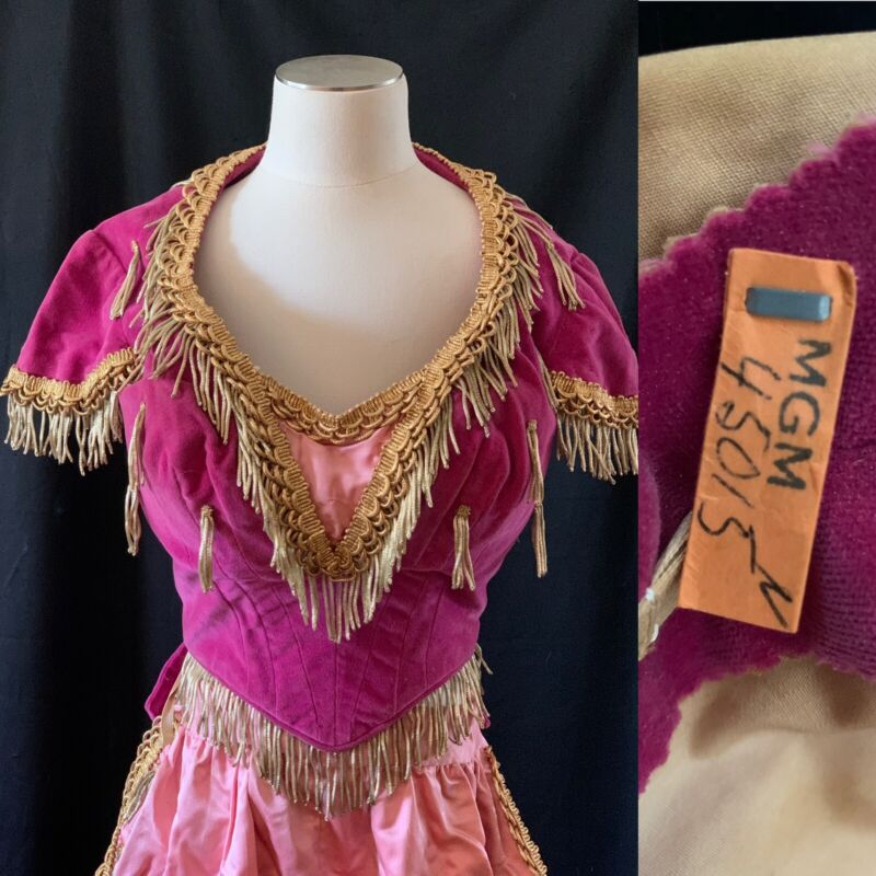 Metro-Goldwyn-Mayer MGM Vintage Dance Movie Costume From Auction