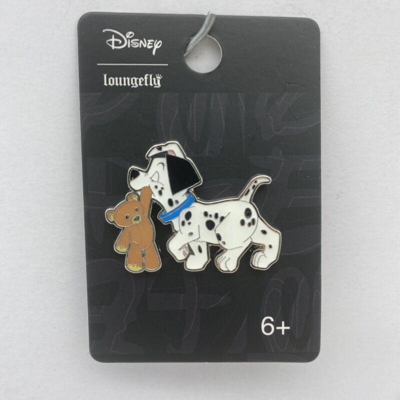 Disney Loungefly Pin 101 Dalmatians Puppy & Teddy Bear Trading Pin