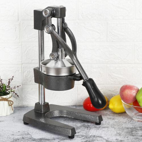 3 Pcs Manual Juice Press Fruit Lemon Squeezer Gray Hand Press Commercial Pro Home & Garden