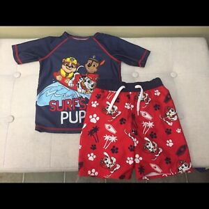 4T Paw Patrol Bathing Suit