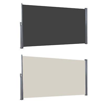 Seitenmarkise Seitenrollo TÜV geprüft Markisenstoff aus Polyester 280 g/m²