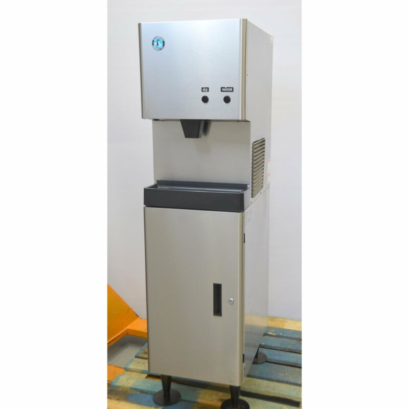 Hoshizaki DCM-270BAH Cubelet Ice Maker & Water Dispenser with Stand