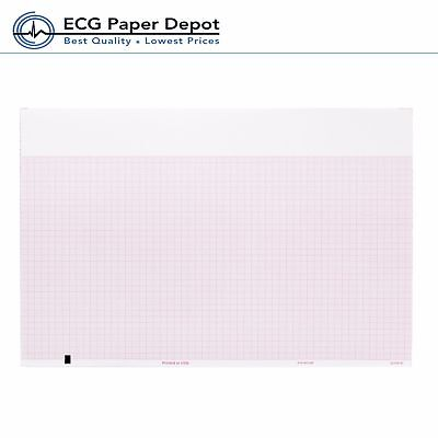 Ecg Ekg Recording Thermal Paper 8.50 X 183 Welch Allyn Compatible 2 Packs