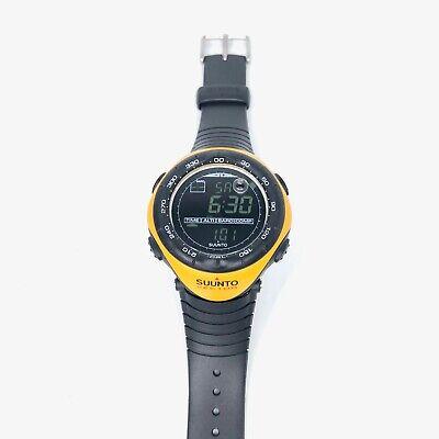 Suunto Vector Yellow Sports Watch Outdoor Military Collectable Rare SS010600610