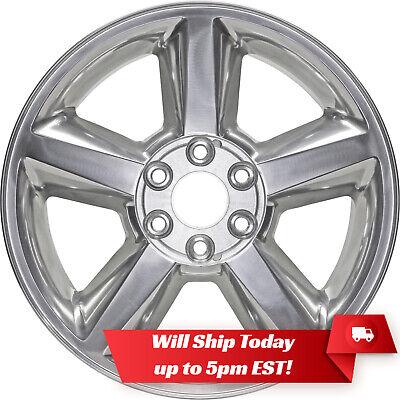 "New 20"" Polished Alloy Wheel Rim for 2007-2013 Chevrolet Tahoe Suburban"