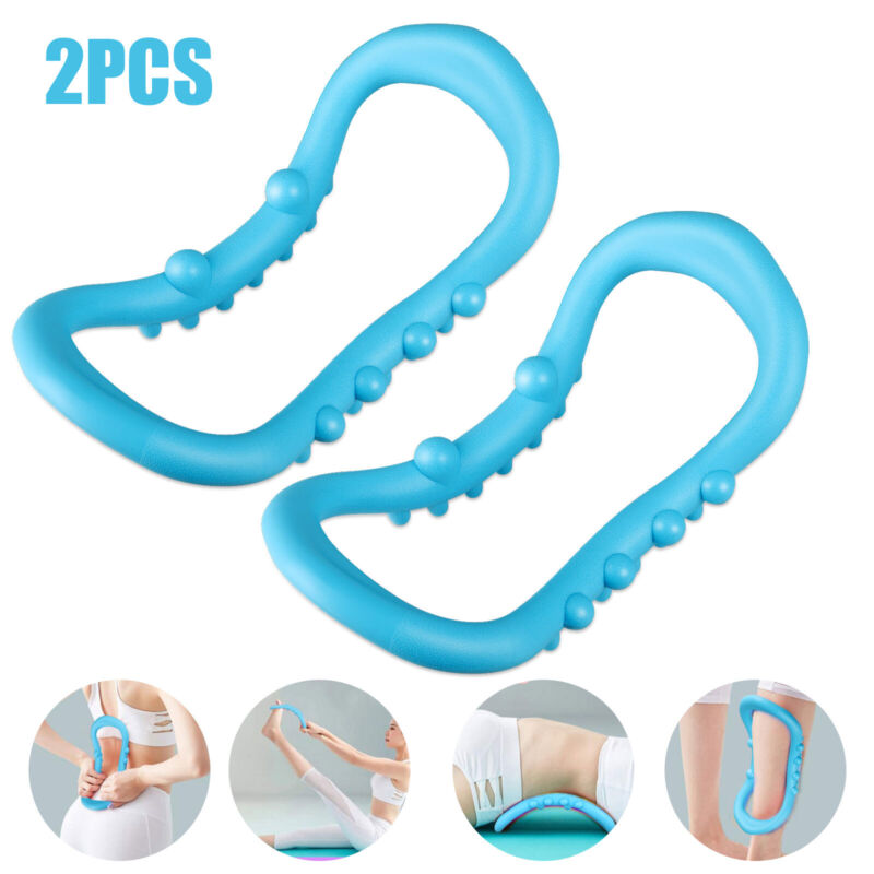 Circle Pilates Yoga Ring Body Trainer Muscle Exercise Fitness Magic Trainer Tool