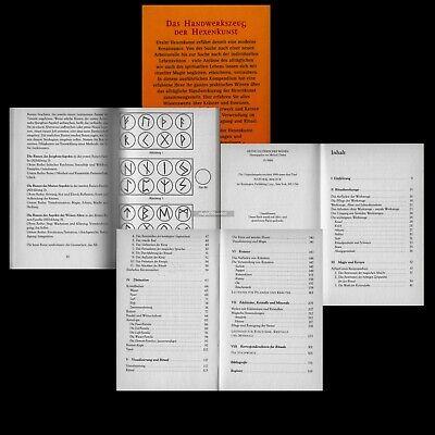 Weiße Magie  Almanach der Hexenkunst Hexen Hexenbuch - Hexen Zauber Buch