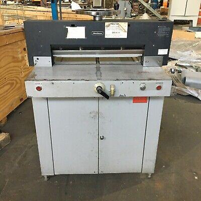 Horizon Pc-64 Paper Cutter - 120vac 25 Inch Max Width Cutting
