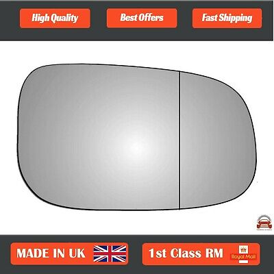 Right Driver side wing mirror glass for Volvo XC90 2015-On wide angle heated