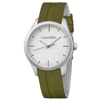 Calvin Klein Men's Quartz Watch K5E51FW6 ()
