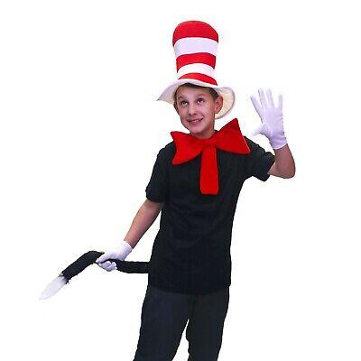 Katze im Hut Kostüm Kinder Erwachsene Outfit büchertag Woche Dr Seuss Kostüm