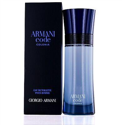 Armani Code Colonia for men by Giorgio Armani Eau De Toilette spray 2.5 (Armani Code For Men Eau De Toilette)