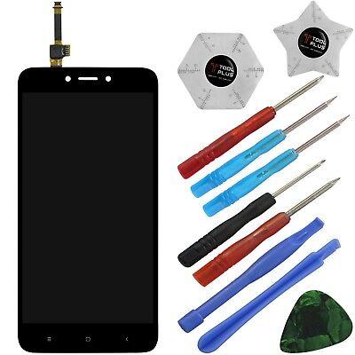 4 Werkzeug-set (Xiaomi Redmi 4X Komplettes LCD Display Touchscreen Schwarz + Werkzeugset !)