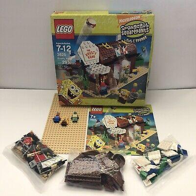 Lego SpongeBob Squarepants 3825 The Krusty Krab Complete Building Toy Set w/ Box