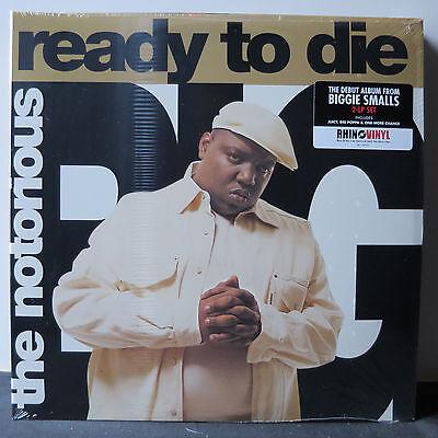 """NOTORIOUS BIG """" READY TO DIE """" SEALED U.S. LP HEAVY PRESSING GATEFOLD SLEEVE"""