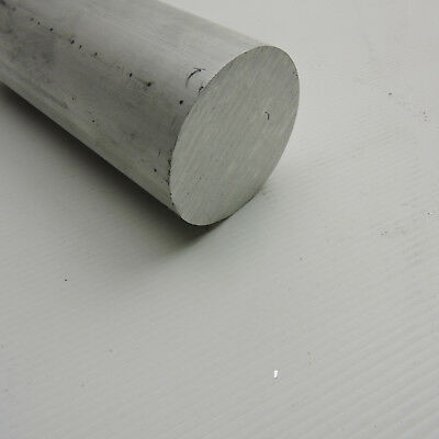 2-14 Aluminum 6061 T6511 Round Rod 8 Long Solid 2.25 Diameter Lathe Bar Stock