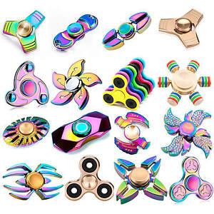 Fidget-Hand-Finger-Spinner-Aluminum-Ceramic-Bearing-EDC-Toys-ADHD-Stress-Relieve
